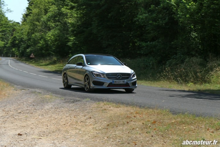 Mercedes CLA 250 Shooting Brake 4Matic Version Sport dynamique-4