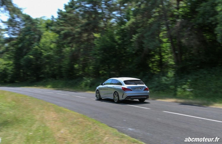 Mercedes CLA 250 Shooting Brake 4Matic Version Sport dynamique