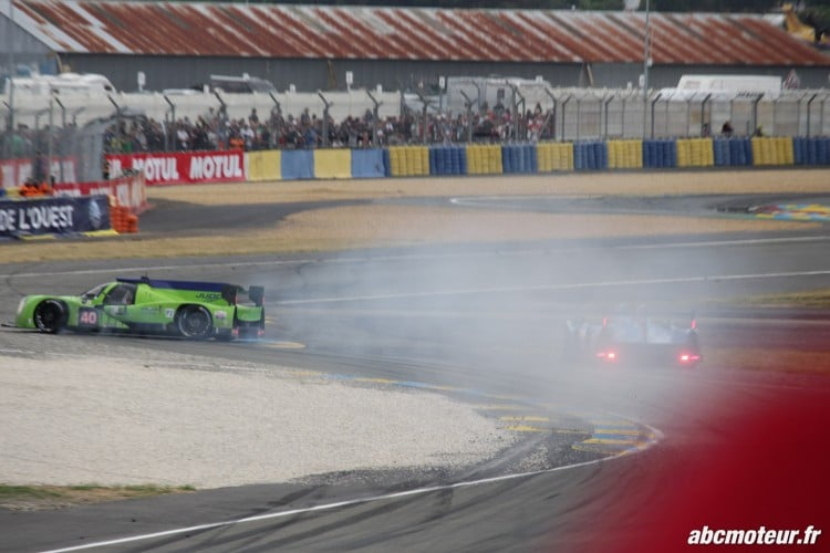crash LMP2 24 H du Mans 2015