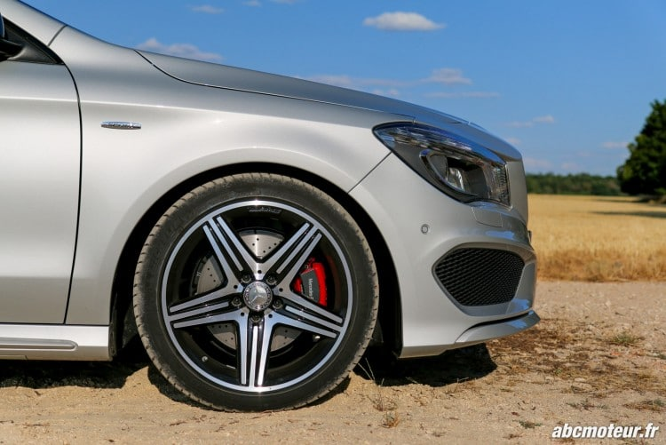 jante 18 AMG Mercedes CLA 250 Shooting Brake 4Matic Version Sport