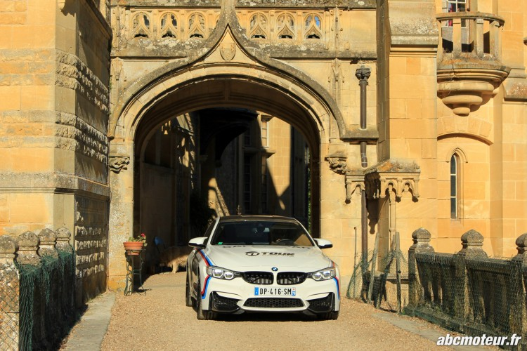 BMW M4 Safety Car chateau Prye M Festival