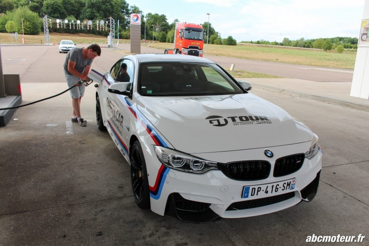 BMW M4 Safety Car station service M Festival