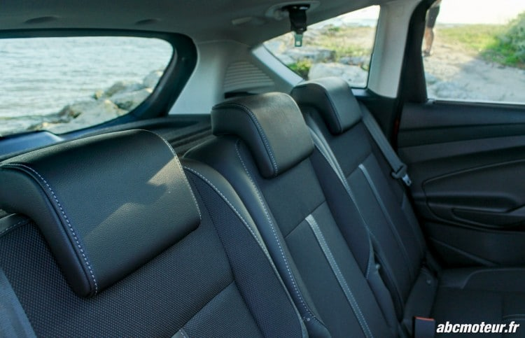 Ford C-Max II restyle banquette