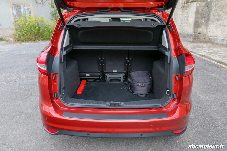 Ford C-Max II restyle coffre