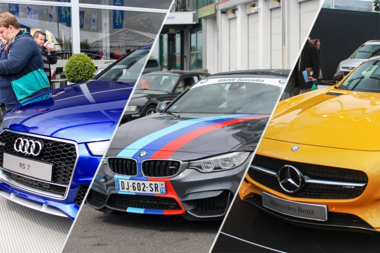 Audi RS 7 BMW M4 Mercedes AMG GT S