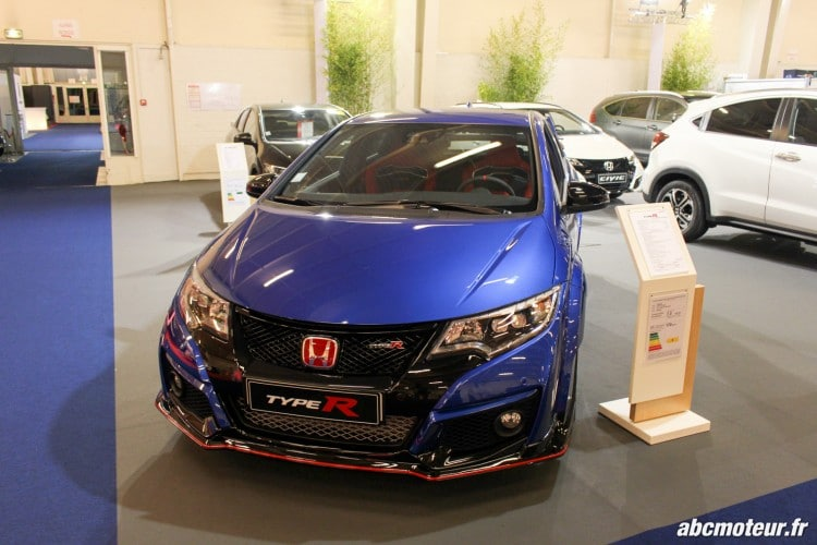 Honda Civic Type R salon auto Orleans 2015