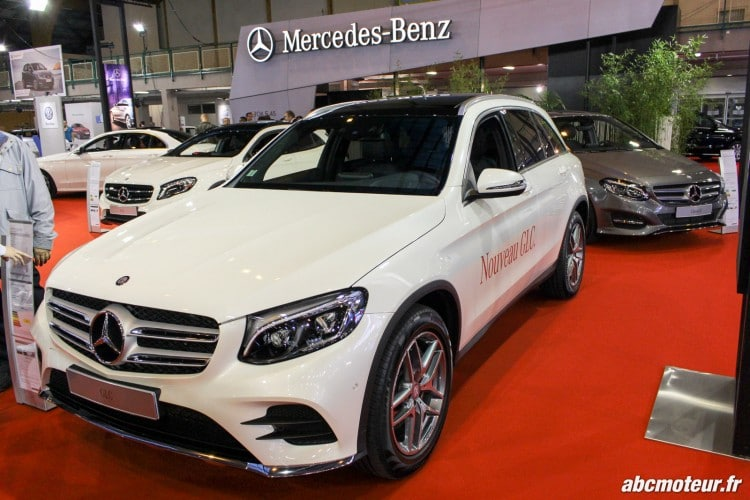 Mercedes GLC salon auto Orleans 2015