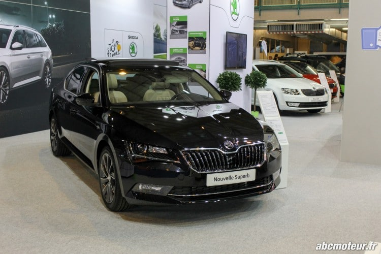 Skoda Superb salon auto Orleans 2015