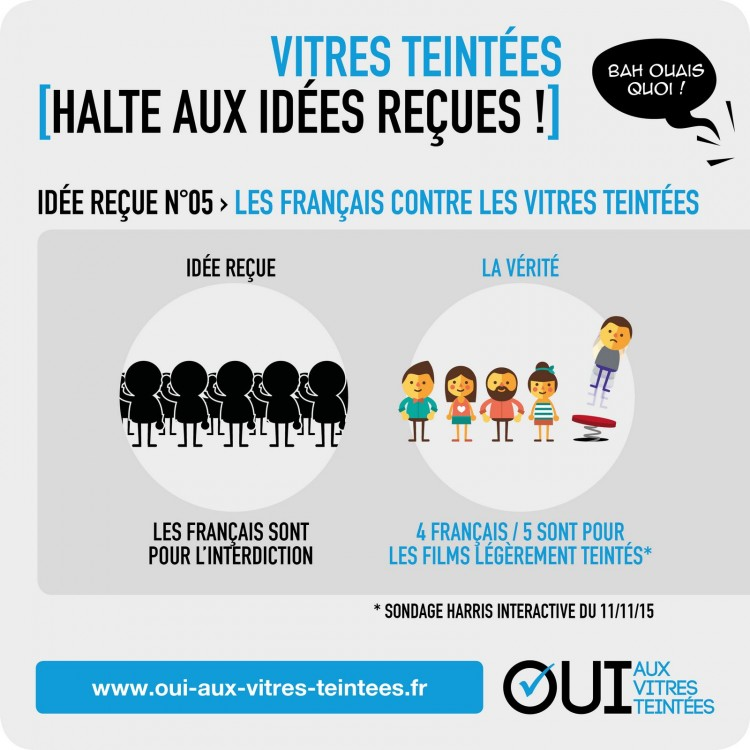 idee recue opinion vitres teintees