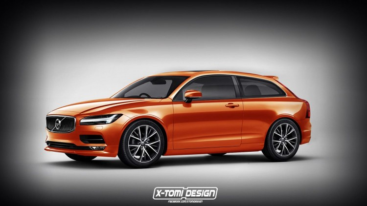illustration Volvo C30 II