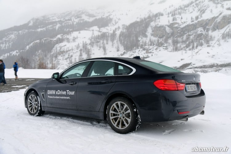 BMW Serie 4 Gran Coupe arriere
