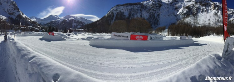BMW Val Isere Ice Driving circuit