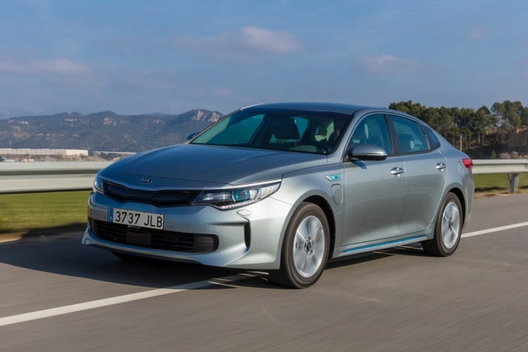 Kia Optima IV Hybride