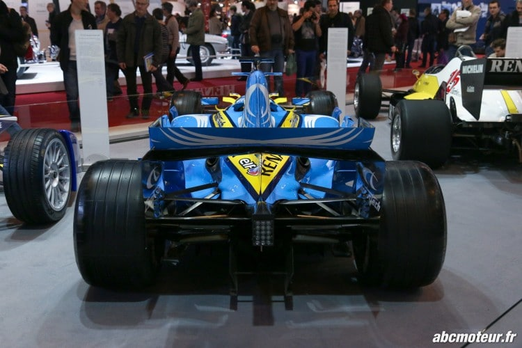 Renault R26 arriere