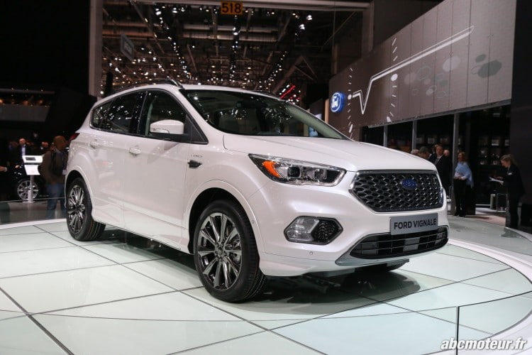 Ford Kuga Vignale Concept Geneve 2016