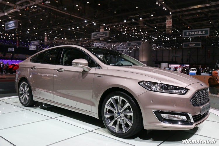Ford Mondeo Vignale Geneve 2016-2