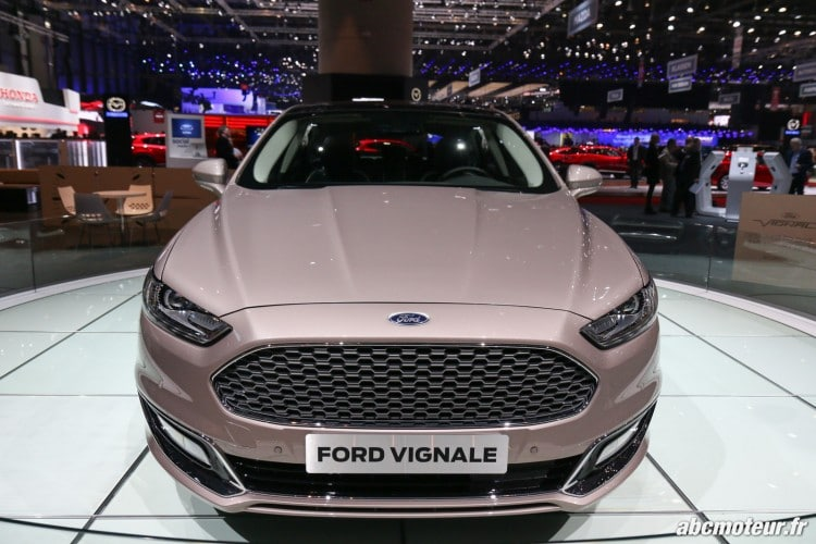 Ford Mondeo Vignale Geneve 2016