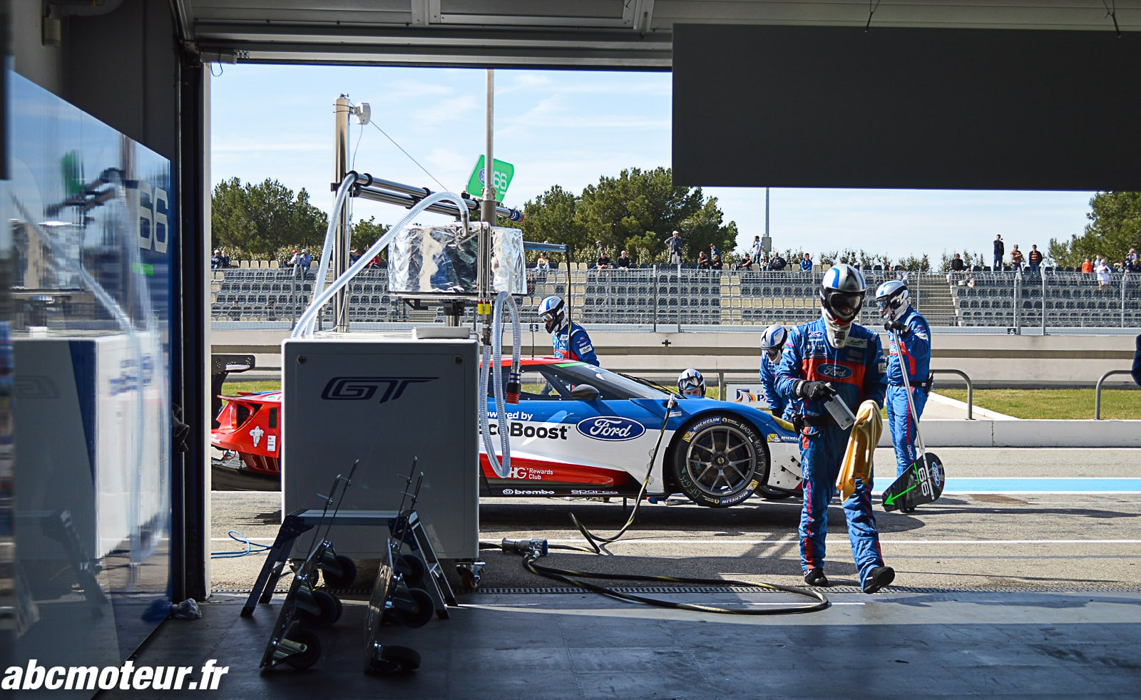 Prologue FIA WEC : une matinée en immersion avec Ford Performance !