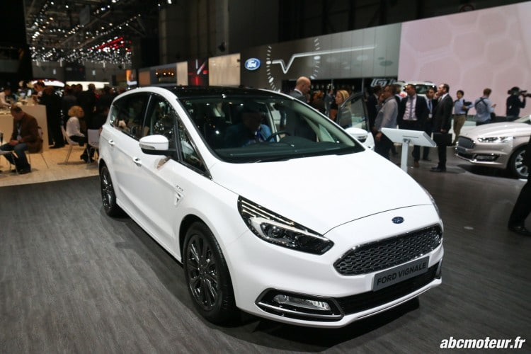 Ford S-Max Vignale Geneve 2016-6