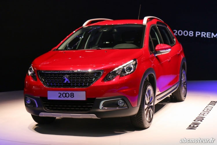 Peugeot 2008 restyle Geneve 2016