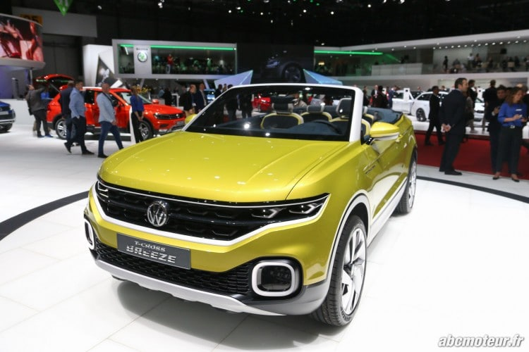 Volkswagen T-Cross Breeze avant Geneve 2016-2