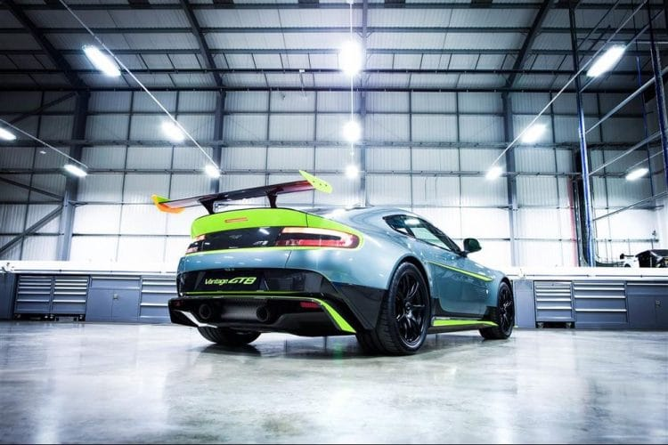 Aston Martin Vantage GT8. April 2016Photo: Drew Gibson