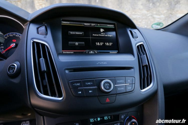 Ford Focus RS 3 SYNC 2