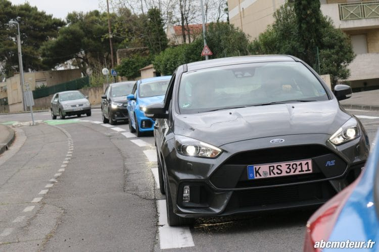 Ford Focus RS 3 dynamique-5