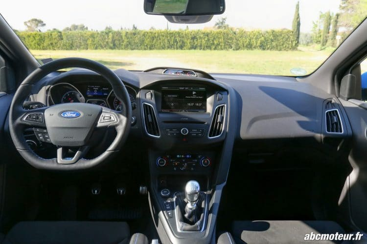 Ford Focus RS 3 interieur