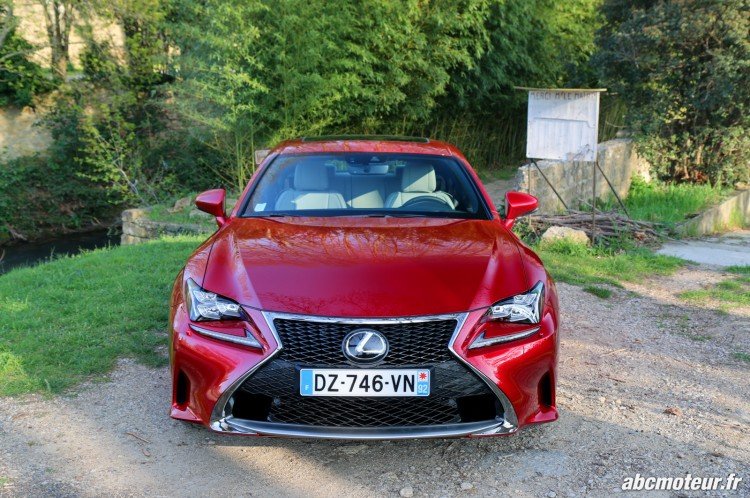 Lexus RC 200t F Sport Executive avant-5