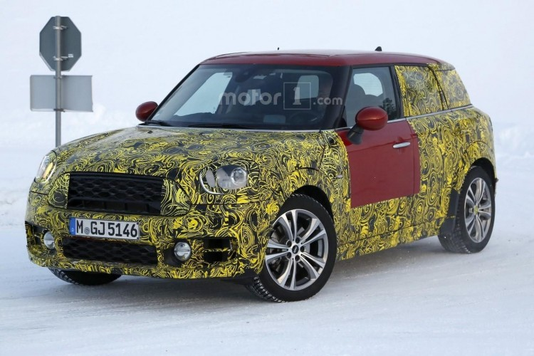 Mini Countryman spy