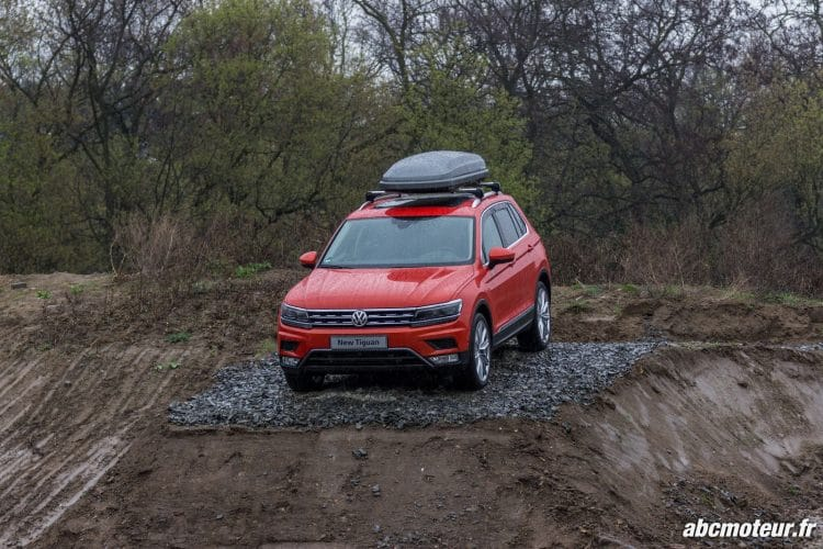 Le Tiguan version Offroad...