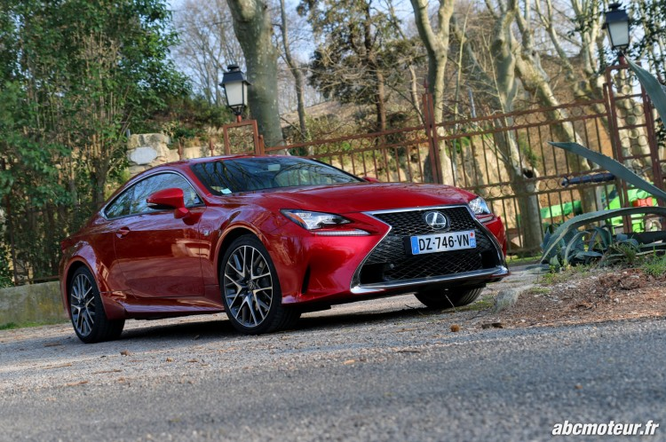essai Lexus RC 200t F Sport Executive