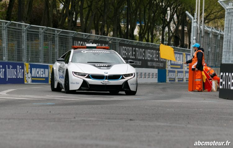 safety car BMW i8 Formule E Paris 2016-5
