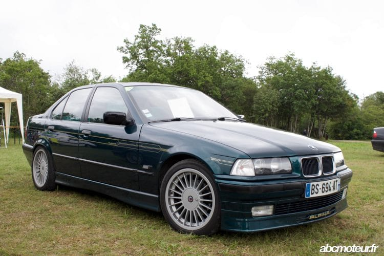 BMW E36 Alpina Grand Prix Age Or 2016 Dijon-Prenois-33
