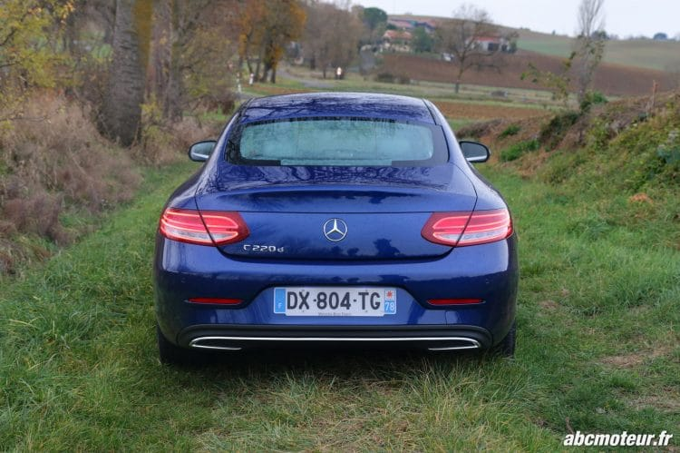 Mercedes Classe C Coupe 220 d Executive arriere