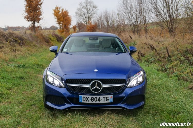 Mercedes Classe C Coupe 220 d Executive avant