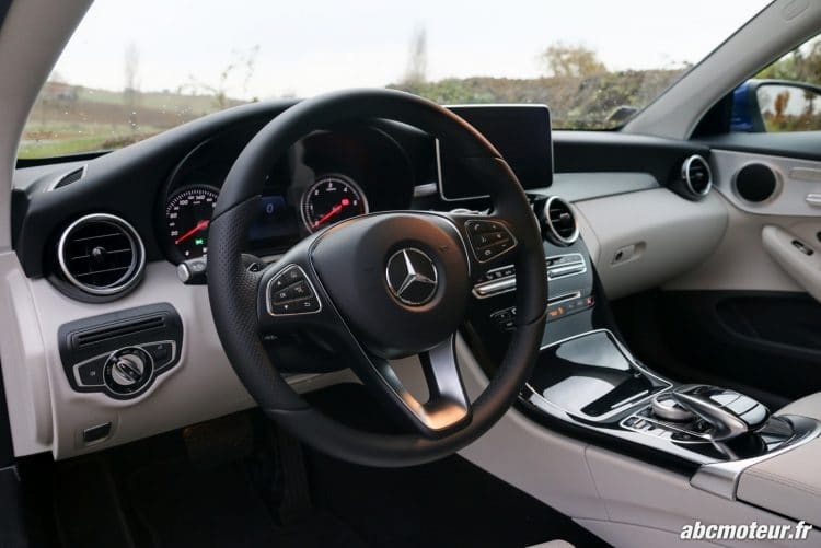 Mercedes Classe C Coupe 220 d Executive volant