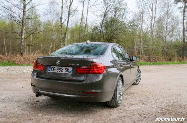BMW Serie 3 F30 arriere