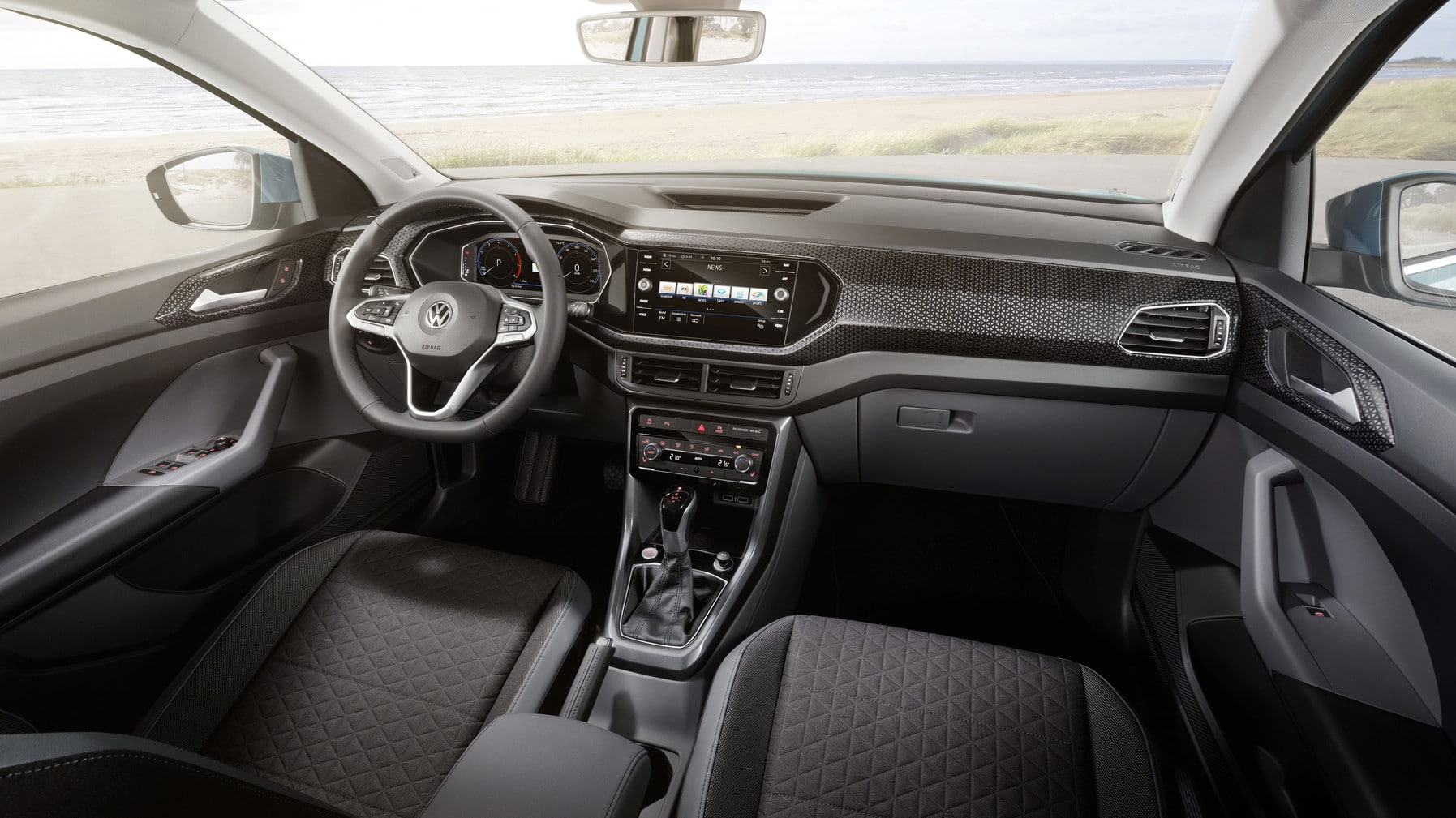 Habitacle du Volkswagen T-Cross