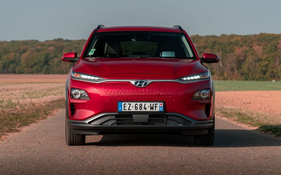 Essai Hyundai Kona Electric 64 kWh Executive : vert(ueux)