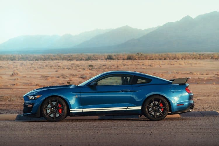 Ford Mustang Shelby GT500 - Profil