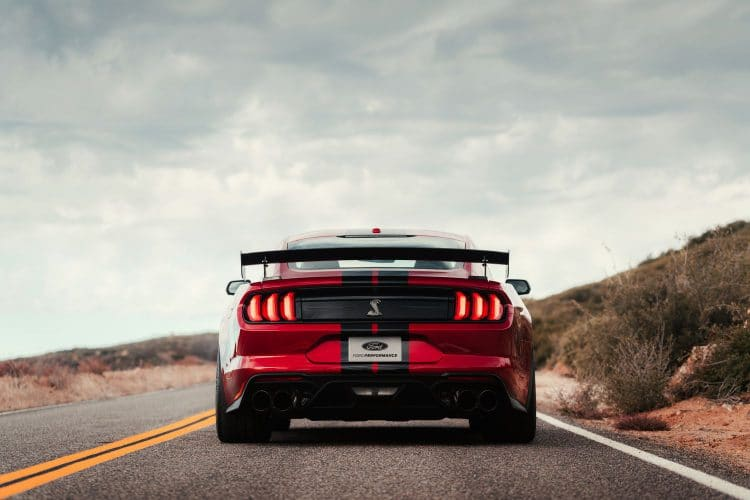 Ford Mustang Shelby GT500 - Arrière