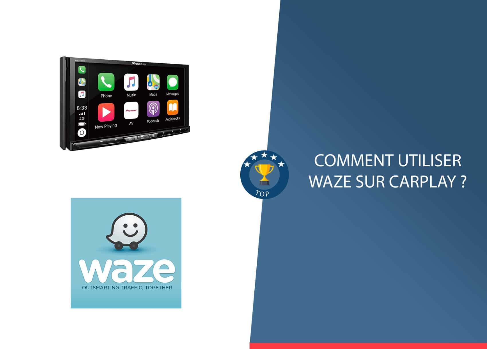 Installer Waze sur Carplay c'est possible maintenant