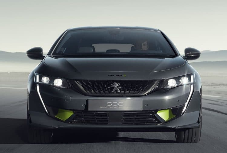 508 Peugeot Sport Engineered - Vue avant