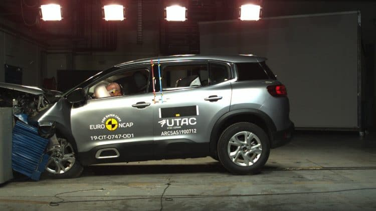 Crash test C5 Aircross