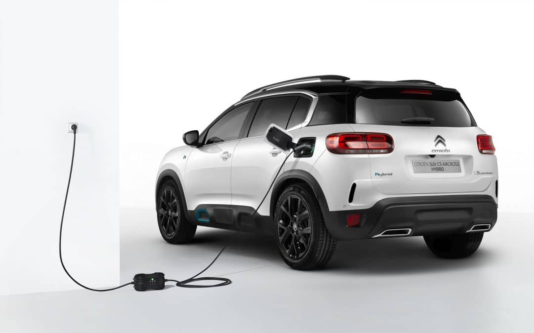 Citroën C5 Aircross : une version hybride rechargeable